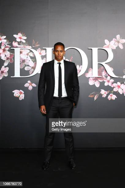 Aska Cambridge attends the photocall at the Dior Pre Fall 2019 Men's Collection on November 30, 2018 in Tokyo, Japan.