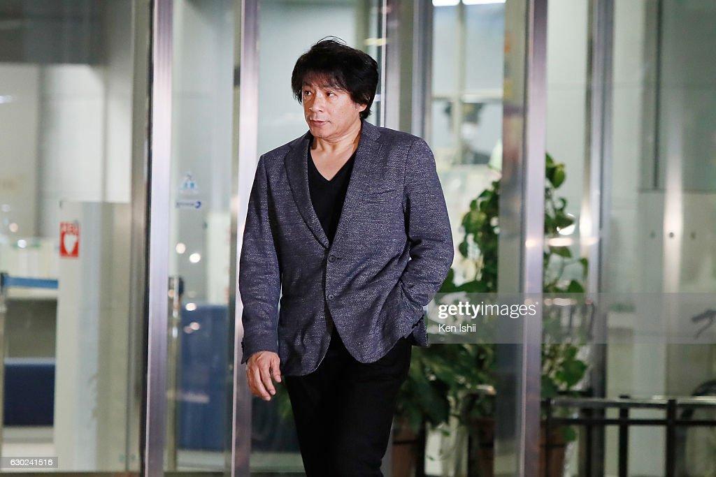 Japanese Singer Aska Released : News Photo