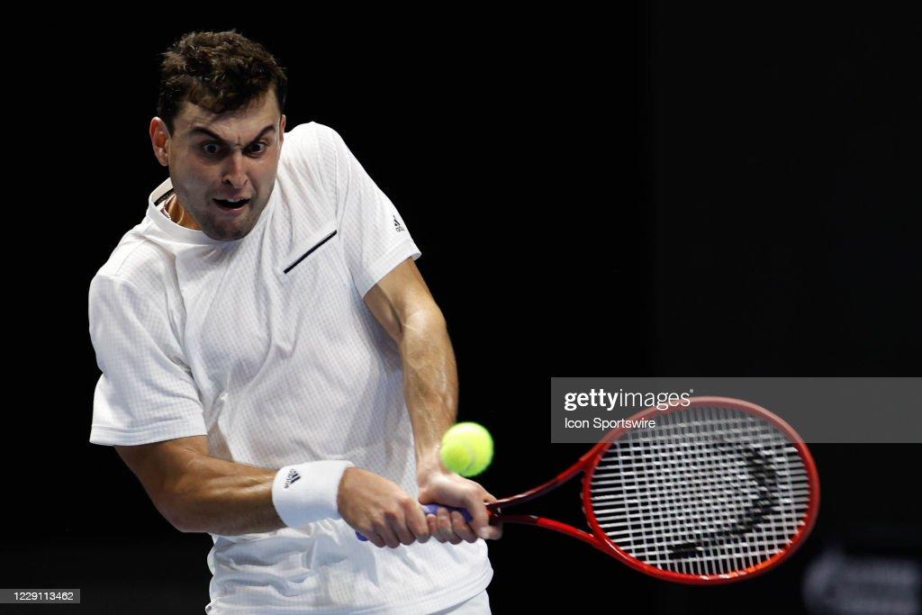 TENNIS: OCT 15 St Petersburg Open : Nachrichtenfoto