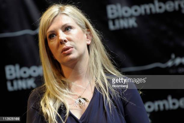 Aslaug Magnusdottir cofounder and chief executive officer of Moda Operandi speaks at Bloomberg Link Empowered Entrepreneur Summit in New York US on...