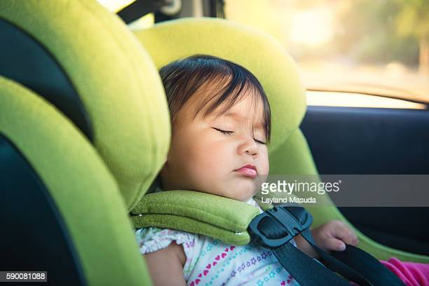 Asleep In Her Car Seat - Baby