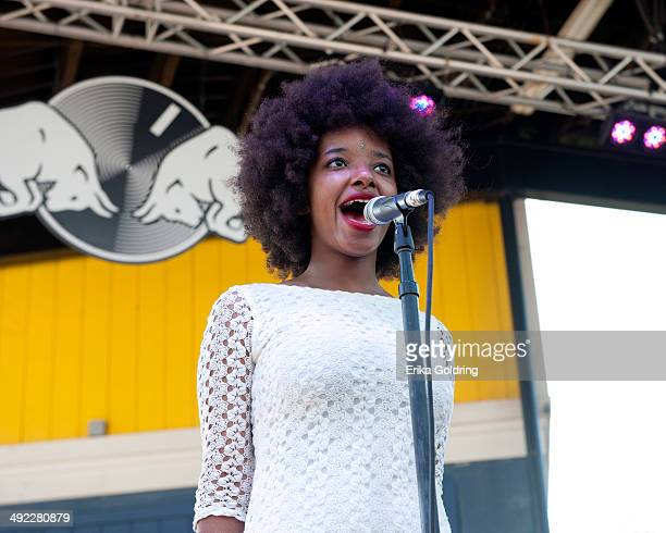 Asli Omar of The Tontons performs during the 2014 Hangout Music Festival on May 18 2014 in Gulf Shores Alabama