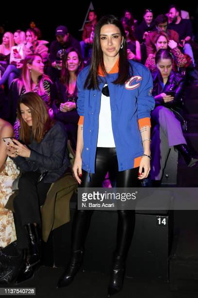 Aslihan Turan attends the Exquise show during MercedesBenz Fashion Week Istanbul March 2019 at Zorlu Center on March 22 2019 in Istanbul Turkey