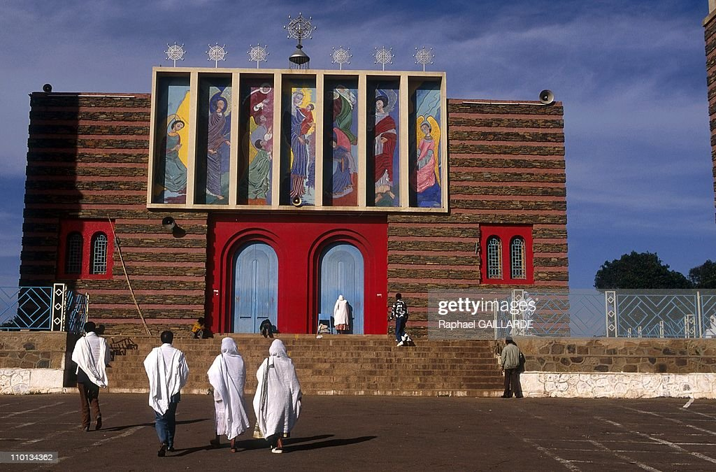 Railway Massawa-Asmara, in Eritrea in May, 1996. : News Photo