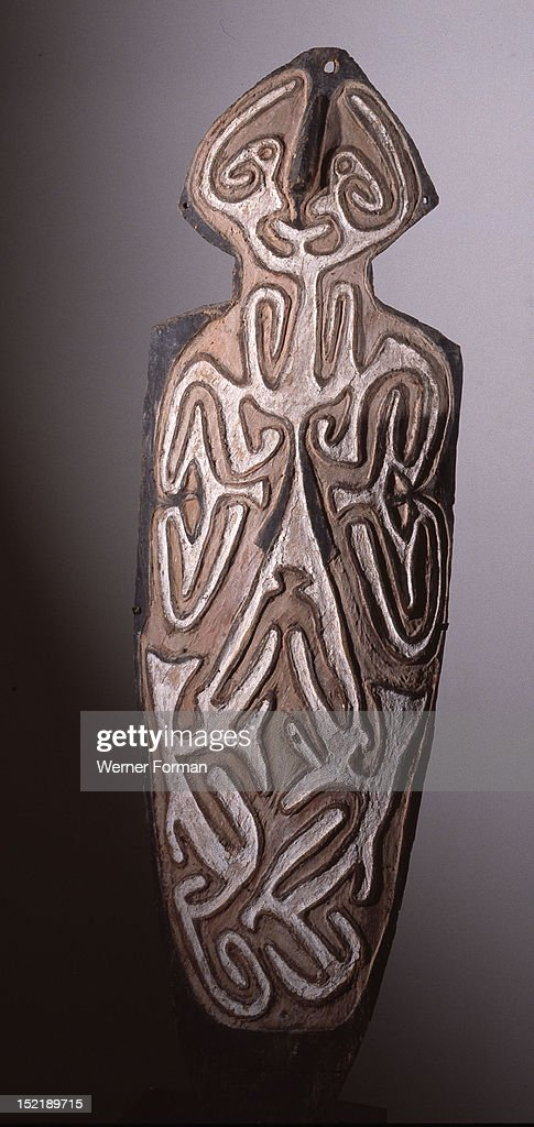 asmat shield pictures getty images