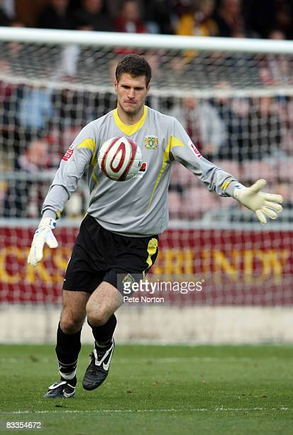 Asmir Begovic of Yeovil Town in action during the Coca Cola League One Match between Northampton Town and Yeovil Town at Sixfields Stadium on October...