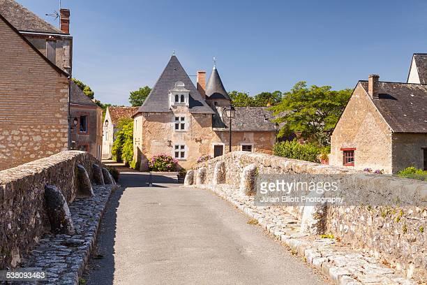 Asnieres-sur-Vegre in the Sarthe, France