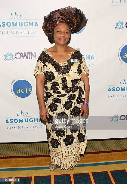 Asomugha Fundation President Dr Lilian Asomugha attends the Fifth Annual Asomugha Foundation Gala held at the Renaissance Hotel at LAX on March 19...