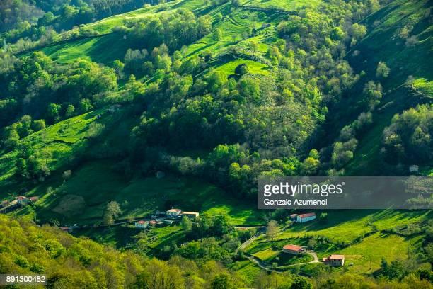 Ason Valley in Cantabria
