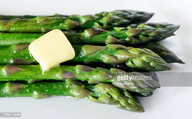 Asparagus and butter