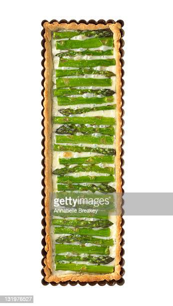Asparagus and Teleme Tart