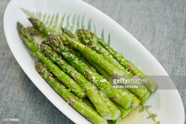 asparagus - kazuko kimizuka stock pictures, royalty-free photos & images