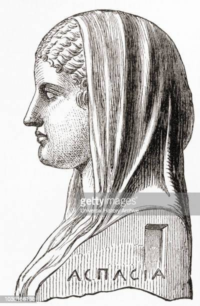 Aspasia c 470 BC c 400 BC Influential immigrant to Classicalera Athens who was the lover and partner of the statesman Pericles From Ward and Lock's...