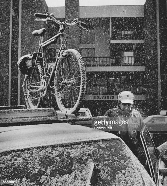 Aspen In Springtime Trying to make the transition to summer is sometimes an ordeal for Aspinites as Richard Compton can attest with his mountain bike...