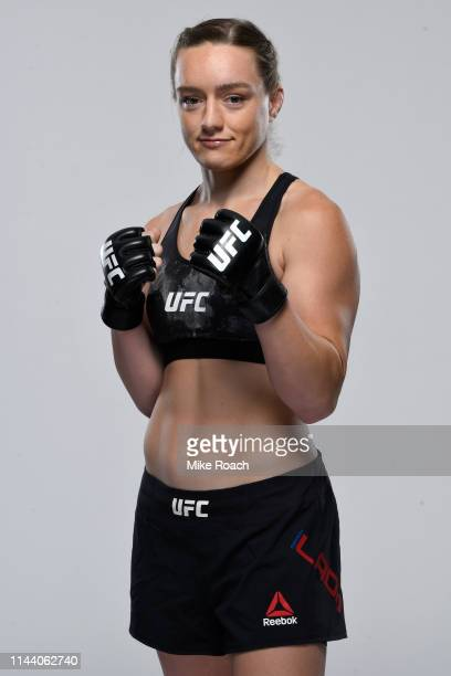 Aspen Ladd poses for a portrait during a UFC photo session on May 15 2019 in Rochester New York