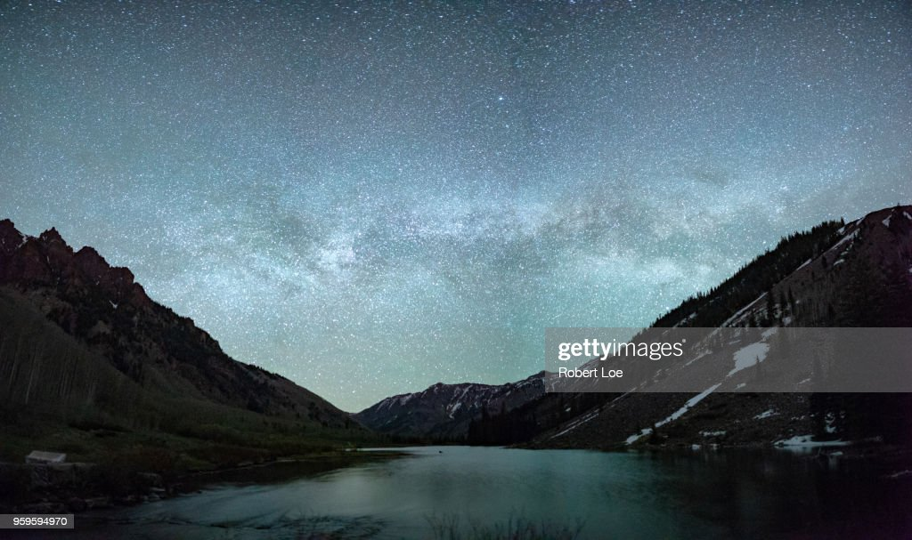 Aspen Milky Way : Stock-Foto