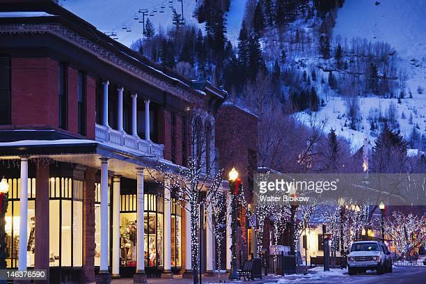 Aspen Mountain, winter