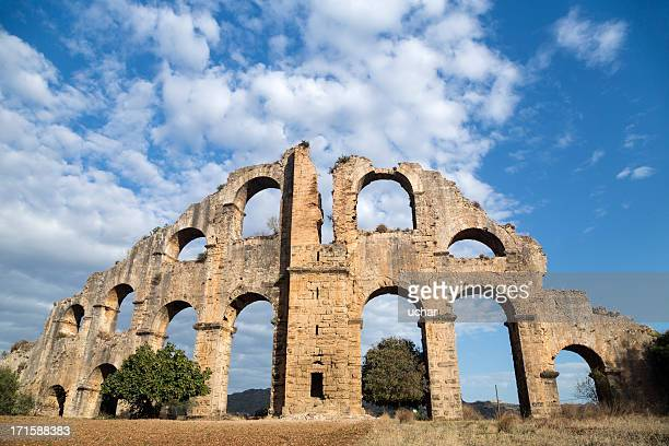 Aspendos Roman acquaduct, Serik, Antalya