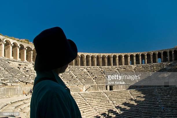 Aspendos, The Roman theatre