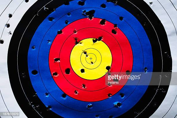 aspirations - bullet hole stock pictures, royalty-free photos & images