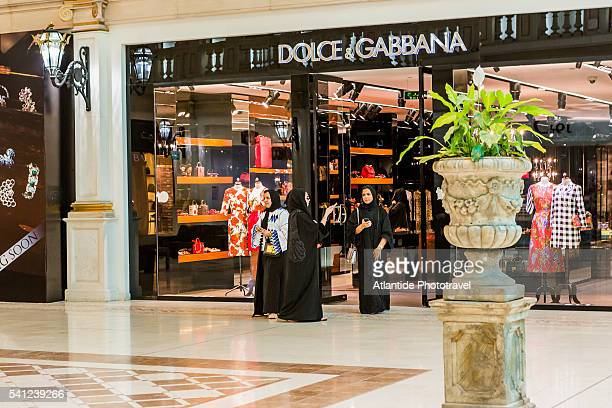 aspire zone, the villaggio mall, women in the luxury area - area designer label stock pictures, royalty-free photos & images