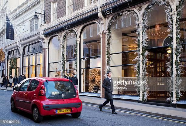 Aspreys, Londres, en Navidad