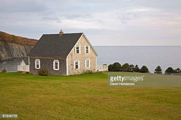 aspy bay, cape breton, nova scotia - david cliff stock pictures, royalty-free photos & images