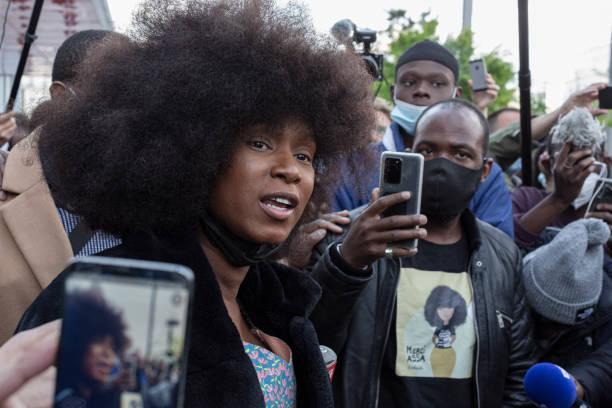 FRA: France's BLM Activist On Trial For Slander