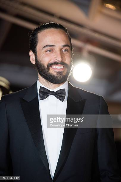 Assaad Bouab arrives at the closing ceremony during the 5th Marrakech International Film Festiva on December 12 2015 in Marrakech Morocco