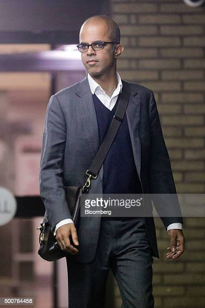 Assad Amin a former equities trader with Royal Bank of Scotland Group Plc leaves Southwark Crown Court in London UK on Friday Dec 4 2015 Amin is one...