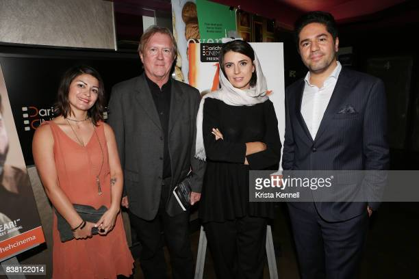 Assal Ghawami Godfrey Cheshire Leila Hatami and Armin Miladi attend Daricheh Cinema NY Features Special Guest Leila Hatami at IFC Center on August 23...