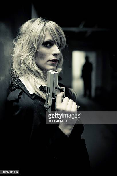 assassin - female execution photos stock pictures, royalty-free photos & images