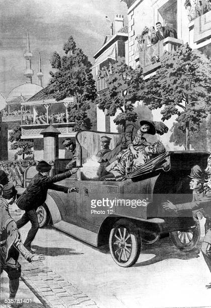 Assassination of Archduke Franz Ferdinand of Austria in Sarajevo This assassination triggered off World War I June 28 Yugoslavia