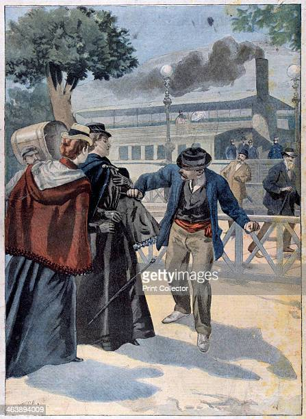Assassination of Elisabeth of Bavaria by Luigi Lucheni 1898 Elisabeth was Empress of Austria and Queen of Hungary as consort of Franz Joseph I whom...