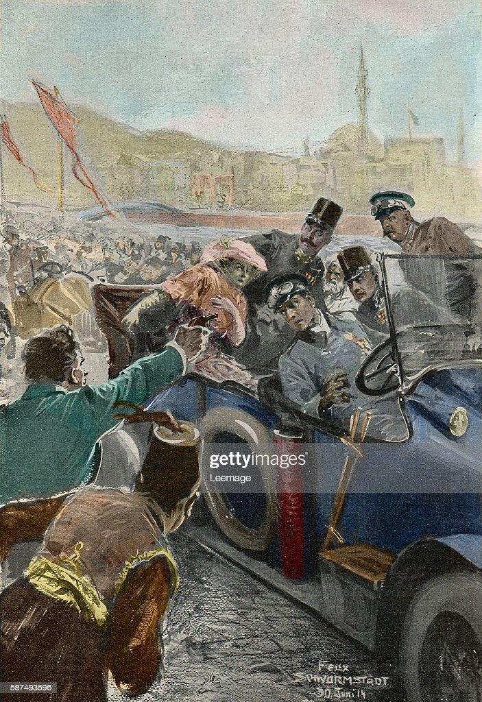 Assassination Of Franz Ferdinand Archduke Of Austria And