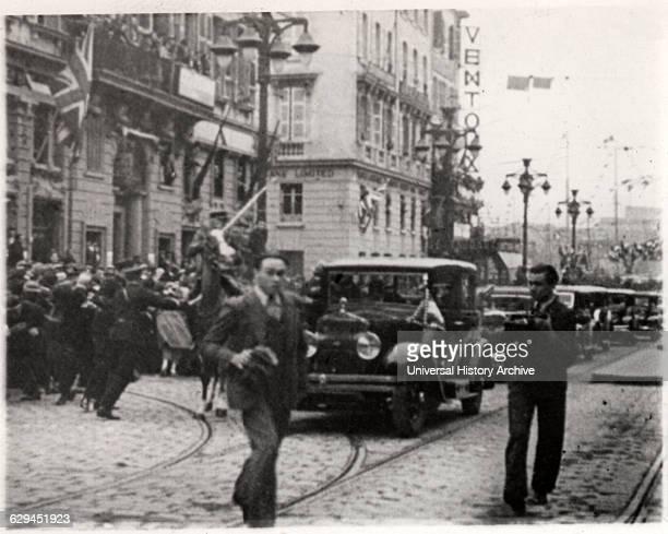 Assassination of King Alexander of Yugoslavia Marseille France 1934