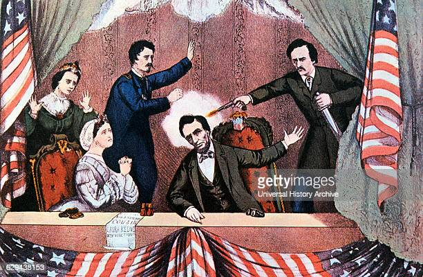 Assassination of President Abraham Lincoln by John Wilkes Booth