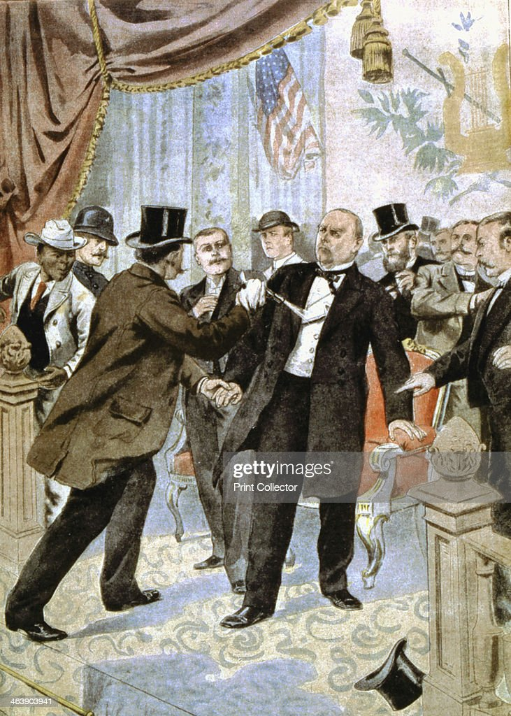 Assassination of William McKinley, 25th President of the ...