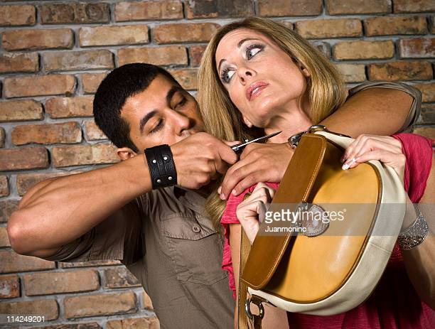 assault! - armed robbery stock photos and pictures