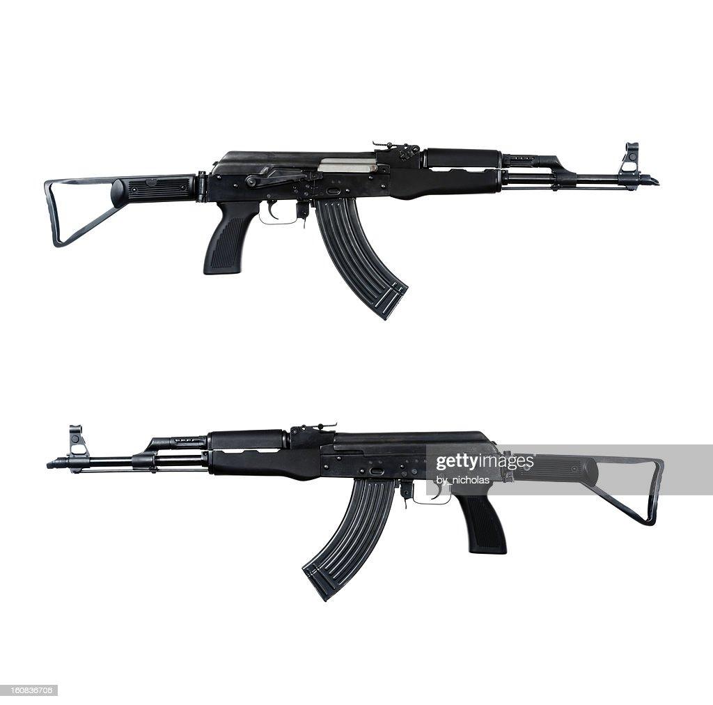 AK - 47 ataque rifle : Foto de stock