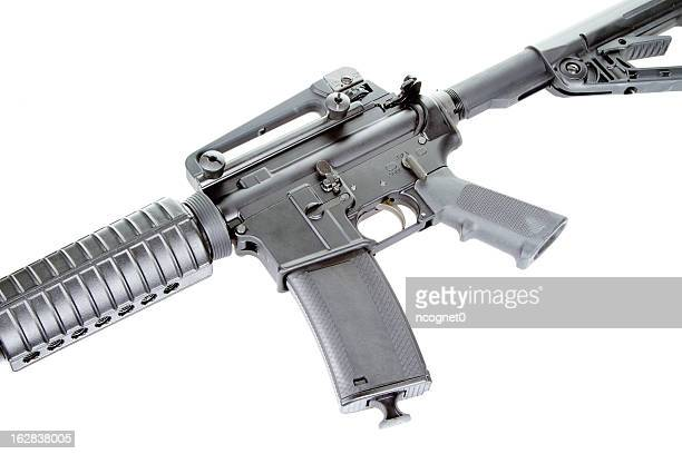 assault rifle - ar 15 stock pictures, royalty-free photos & images