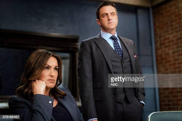 UNIT 'Assaulting Reality' Episode 1721 Pictured Mariska Hargitay as Lieutenant Olivia Benson Raul Esparza as ADA Rafael Barba