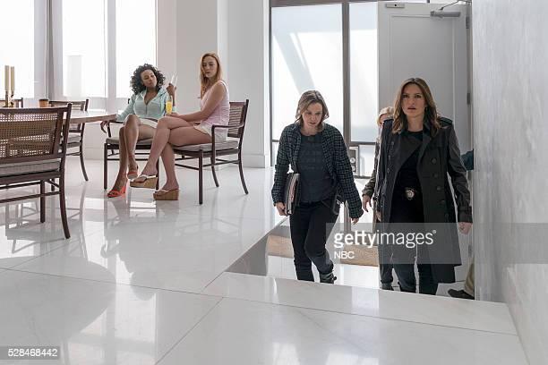 UNIT Assaulting Reality Episode 1721 Pictured Shannon Thornton as Ashley S Ava Lange as Ashley B Larisa Oleynik as Lizzie Bauer Mariska Hargitay as...