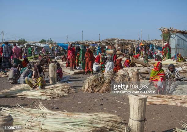 Assayta afar market Ethiopia on January 14 2014 in Assayta Ethiopia