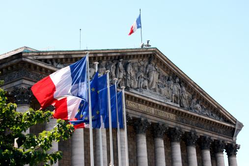 Assemblée Nationale in Paris 165822471