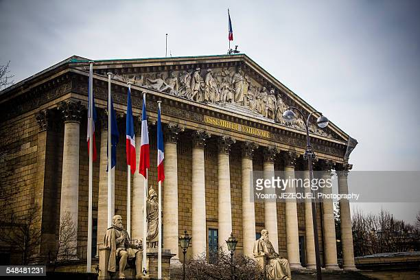 Assemblee nationale, Paris, France