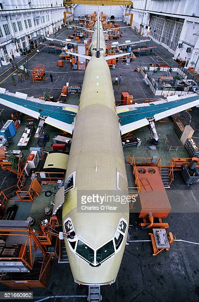 Assembling Airbus A320 Airliners