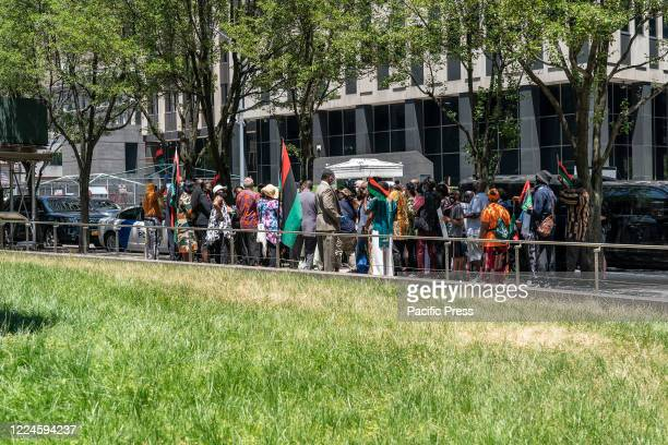 Assembly member Charles Barron organized Reparation Rally and Press Conference at NYC African Burial Ground Memorial. Charles Barron demands of...