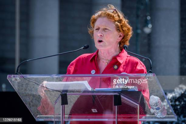Assembly member Jo Anne Simon - Moms Demand Action hosted a Recess Rally and community gathering at Foley Square to honor the victims of gun violence...