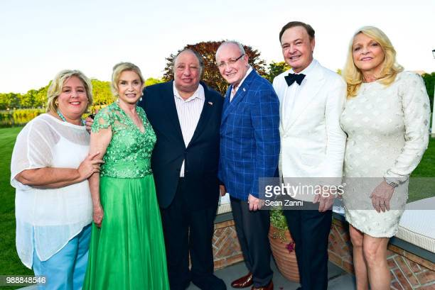 Assembly Member Rebecca Seawright Congresswoman Carolyn Maloney John Catsimatidis Bruce Mosler and Margo Catsimatidis attend Jean And Martin...
